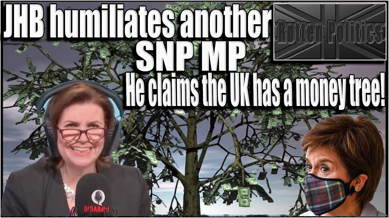 Julia Hartley Brewer proves the SNPs grasp of economics is pittiful