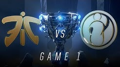 FNC vs IG | Finals Game 1 | World Championship | Fnatic vs Invictus Gaming (2018)