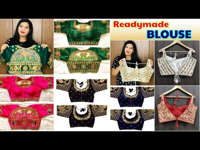 Readymade Blouse/Designer Readymade Blouse / Bridal Blouse #blousedesigns #prititrendz #blouse