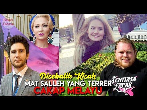 Mengagumkan! 5 'Mat Salleh' ni Fasih Berbahasa Melayu