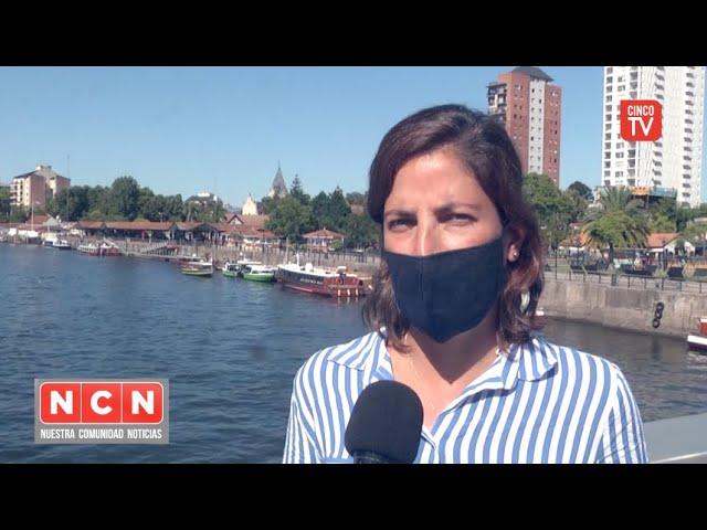 CINCO TV - El Delta de Tigre registra una mejora considerable en la situación de las cianobacterias