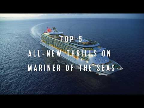 Royal Caribbean Top 5: All-New Thrills on Mariner of the Seas