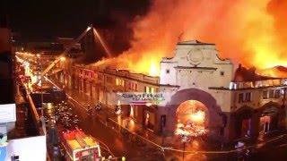 Incendio Mercado Municipal de Temuco