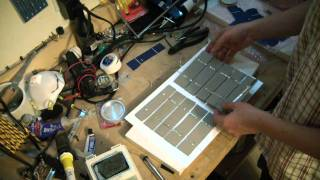 Broken LCD to Solar Panel recycling green DIY Project Part 2