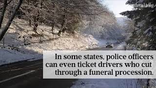 Why You Should Always, Always Pull Over For A Funeral Procession | Southern Living