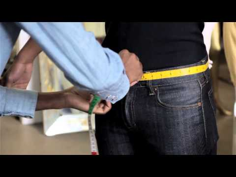 How To Measure The Waist For Men's Jeans : Classy Style