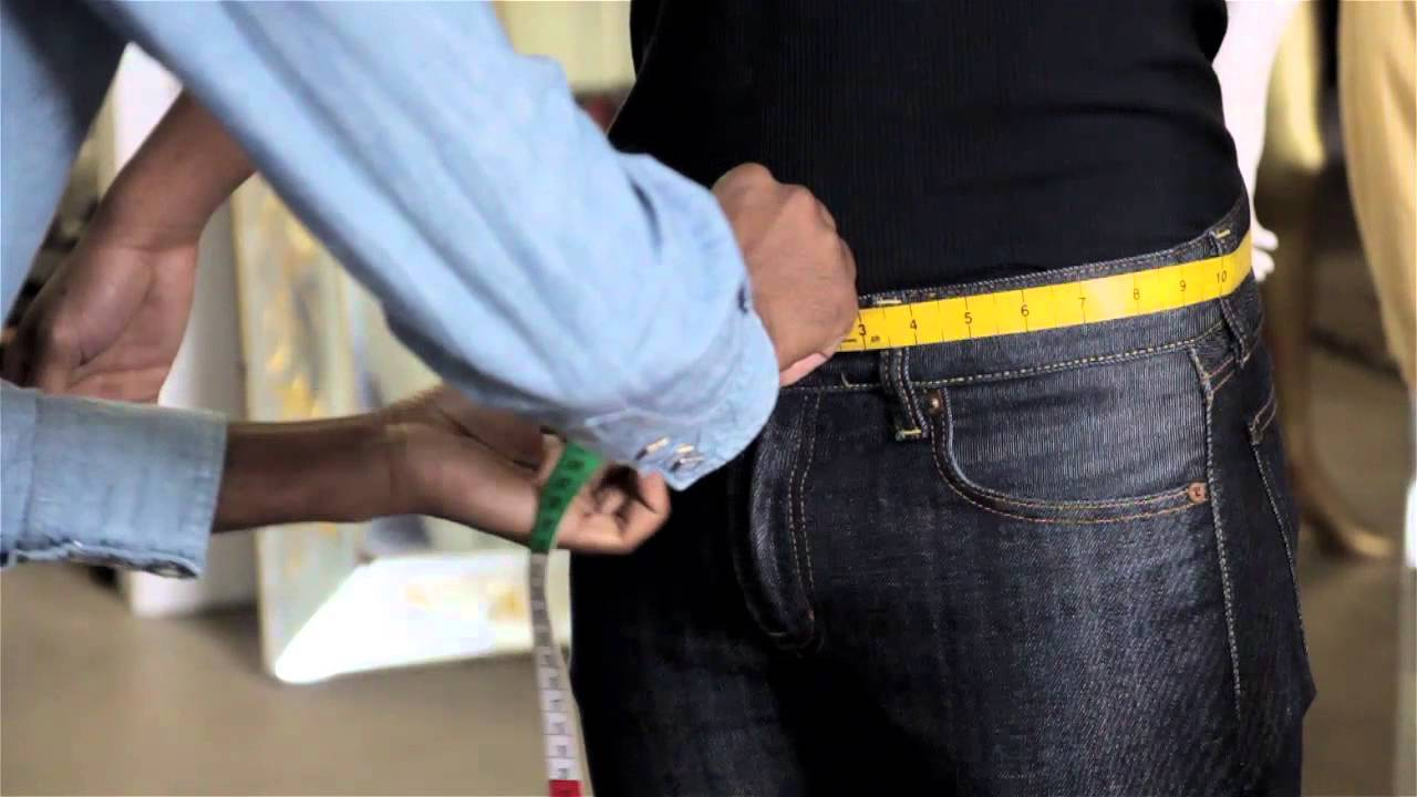 Jun 17,  · When measuring the waist for men's jeans, you're always going to want to keep a few key things in mind. Measure the waist for men's jeans .