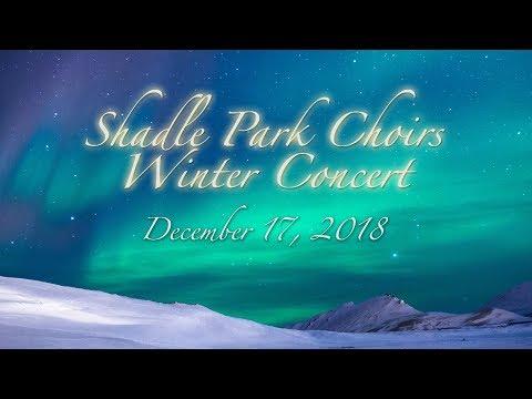 Shadle Park High School Choirs Winter Concert, 2018