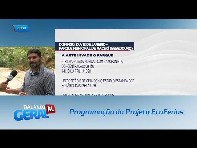 Projeto EcoFérias: Programação nos parques municipais e na orla da Ponta Verde