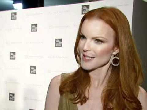 Marcia Cross at the Elie Tahari Boutique Opening 2007 (Interview)