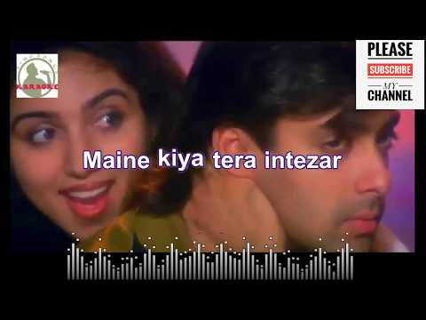 Sathiya tune kya kiya Karaoke song for Male Singers with scrolling Lyrics