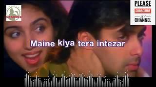 Sathiya tune kya kiya Karaoke song for Male Singers with scrolling Lyrics