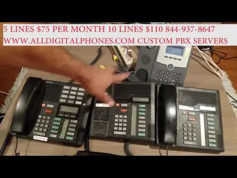 Convert traditional pbx to use voip lines cisco linkys grandstream ATA analog to digital