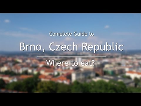 Where To Eat In Brno, Czech Republic | Complete Guide To Brno, Czech Republic