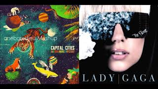 Save Face - Capital Cities vs. Lady Gaga (Mashup)