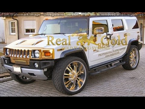 selber vergolden goldstar real gold hummer 24 karat. Black Bedroom Furniture Sets. Home Design Ideas