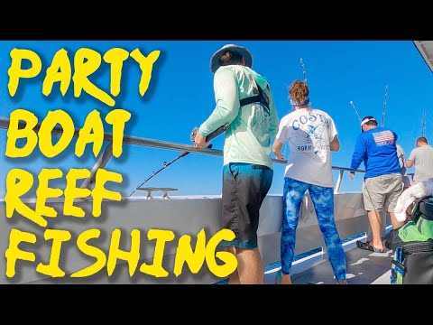 Destin Offshore Party Boat Fishing - Multiple Species On Fishbites!