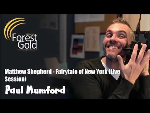Fairytale of New York - Matthew Shepherd (Live Session on Forest Gold Radio - 03/12/17)