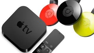 FIGHT Google Chromecast contre Apple TV !