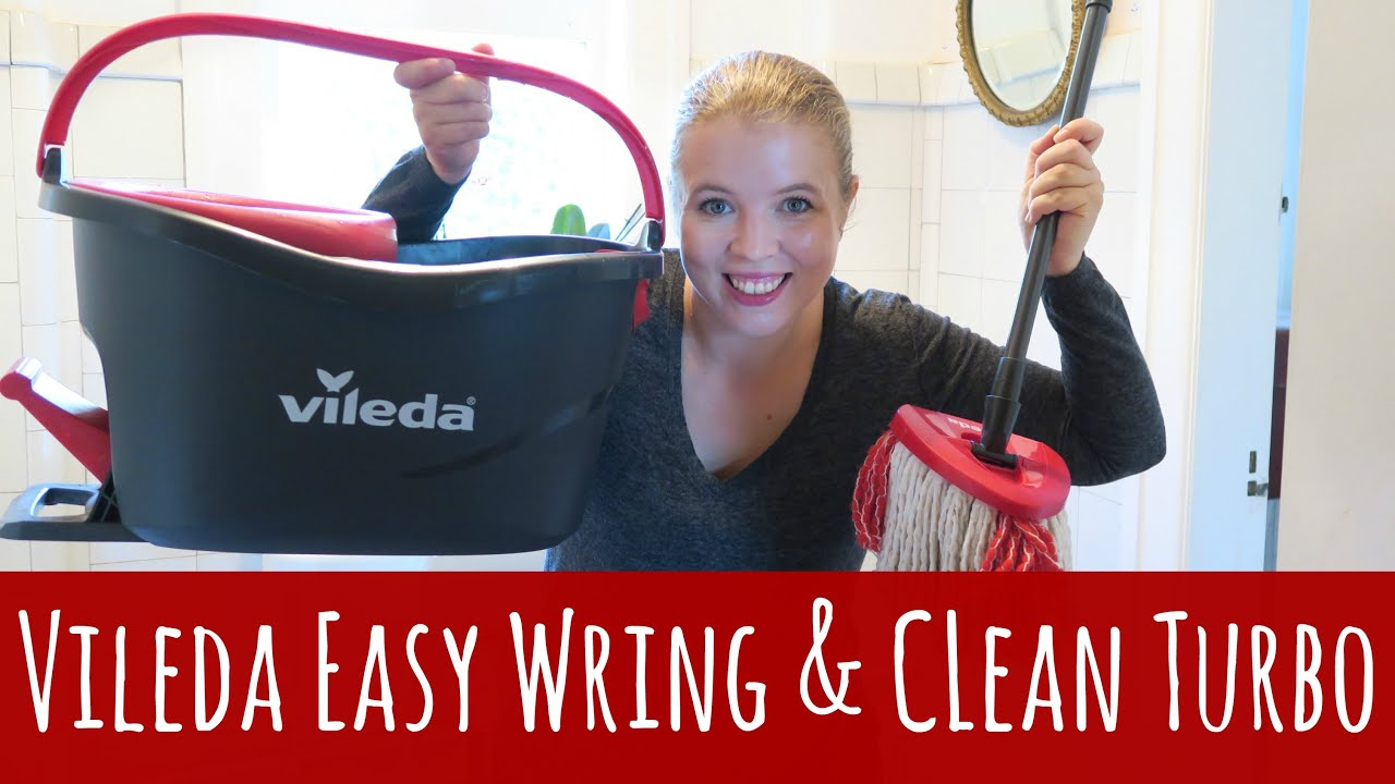 Vileda Easy Wring Clean Turbo Mop Ad Youtube