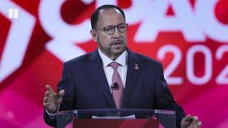 Goya CEO Robert Unanue Touts Trump Election Lies At CPAC