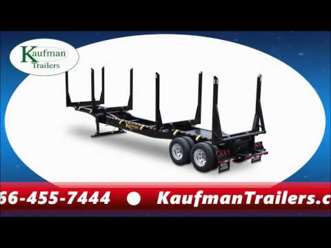 log trailers for by kaufman trailers