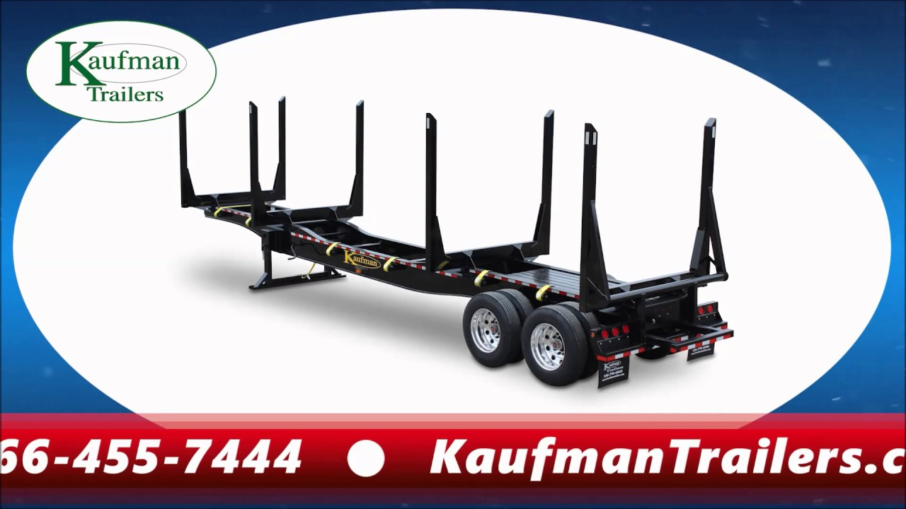 Log Trailers for Sale - by Kaufman Trailers! on