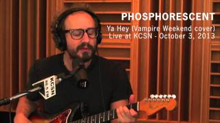 "Vampire Weekend ""Ya Hey"" (Covered by Phosphorescent ) - Live at KCSN -- October 3, 2013"