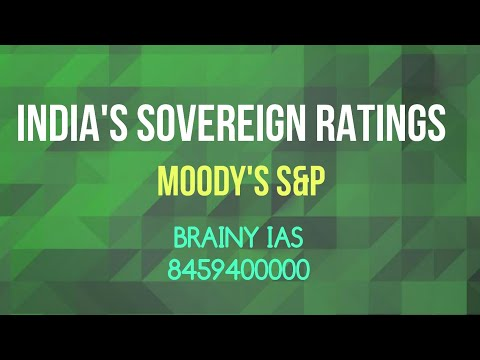 Sovereign rating of India | General studies paper 3  | Economy