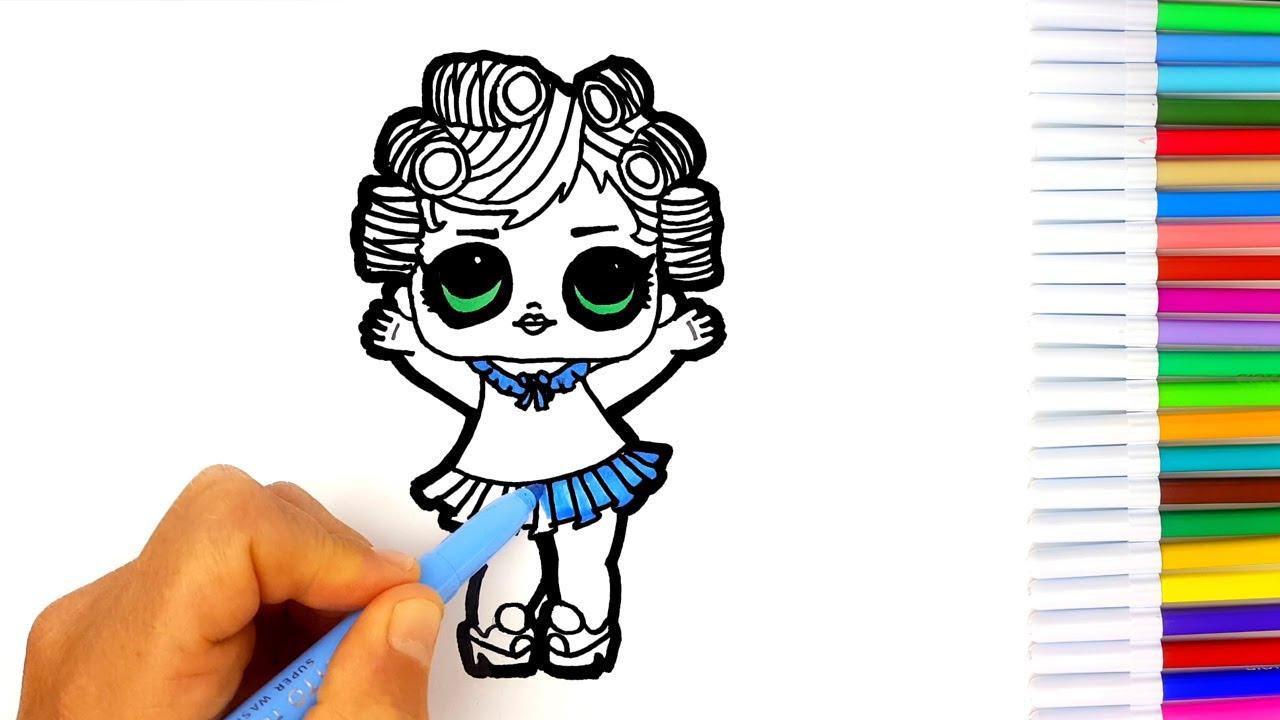 Lol Surprise Disegna E Colora Sleepower Disegno Per Bambini