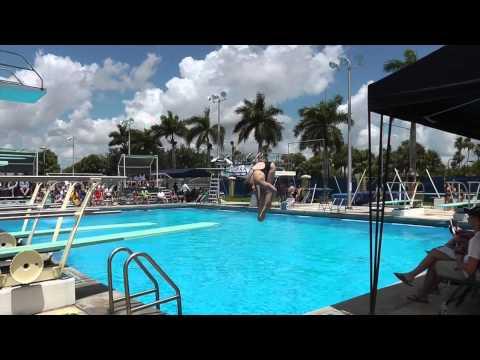 Elizabeth Miller Diving Recruiting Video