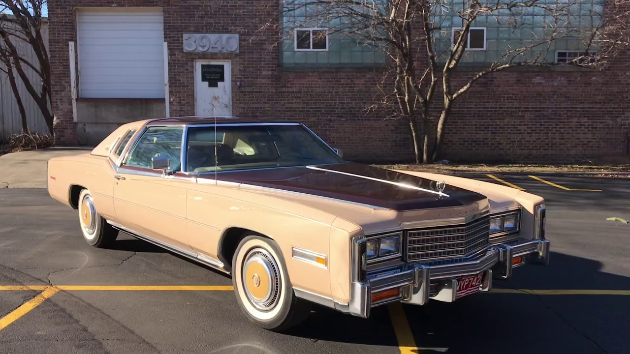 Ultra Low Mileage: Two 1978 Cadillac Eldorado Custom Biarritz Classic