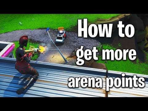 How to GET MORE POINTS in arena! Fortnite arena tips! Fortnite tips!