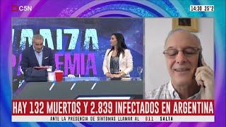 Coronavirus: Habla Dabiel Gollán, Ministro De Salud Bonaerense