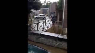 Inondations : Dolhain