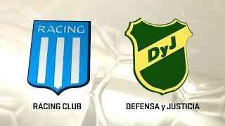 Racing Club vs Defensa y Justicia full match