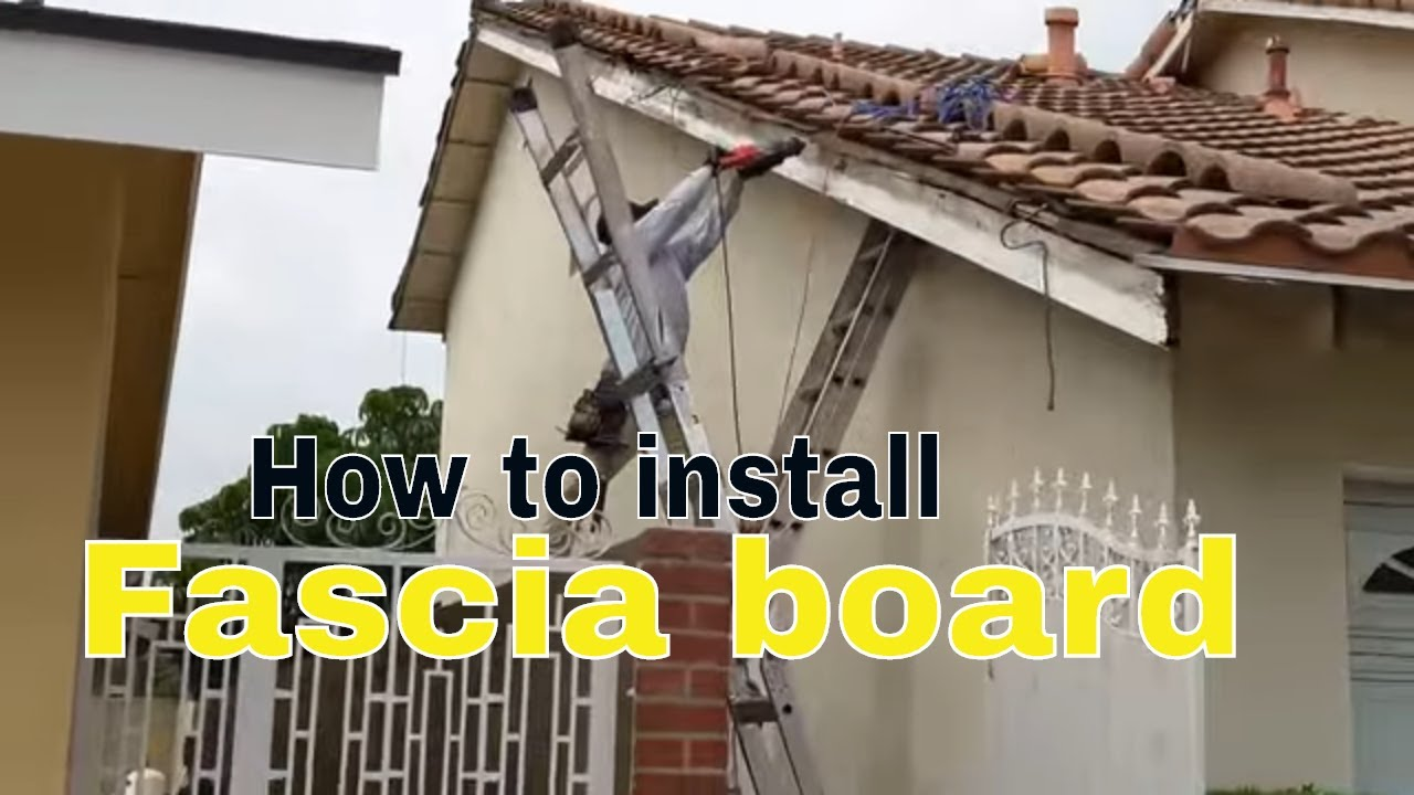 Replacing Fascia Board Rotten Fascia Termite Fascia