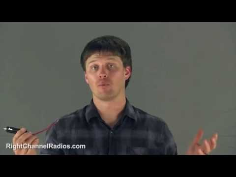 CB Radio Cigarette Lighter Power Plug - YouTubepower wire