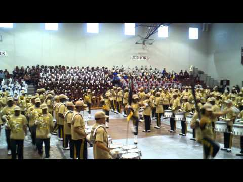 Spartan Legion Marching In to I.C Norcom Competition- 2011