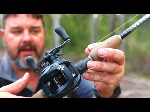 How To Set Up A Baitcaster Fishing Rod And Reel From Scratch