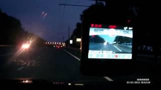 """Видеорегистратор с антирадаром ParkCity 710 GPS vs """"Стрелка-СT"""" п.Майский Белгород"""