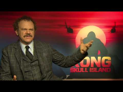 """Interview with John C. Reilly on """"Kong: Skull Island"""""""