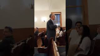 Introduction by Rabbi Elkin at Narayever Event 9-19-19