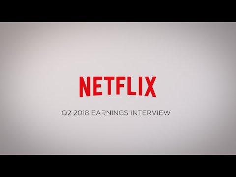 Netflix Q2 2018 Earnings