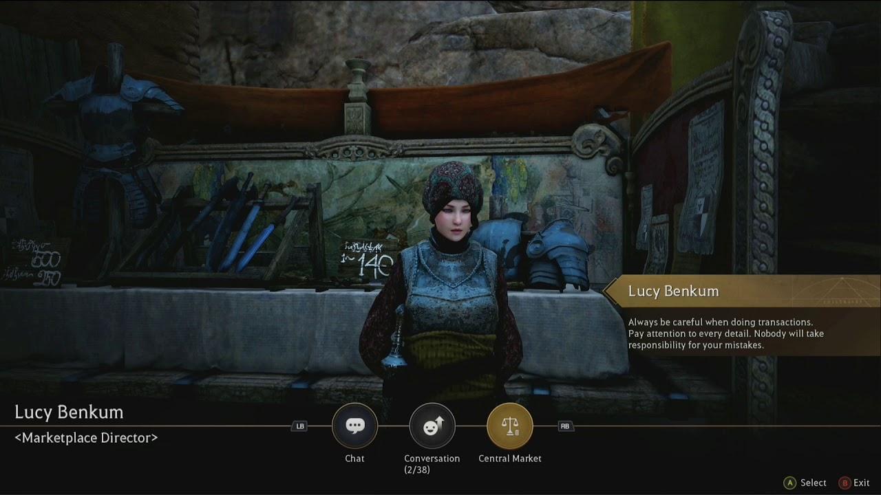 Black Desert (Xbox one) Como usar el Central Market