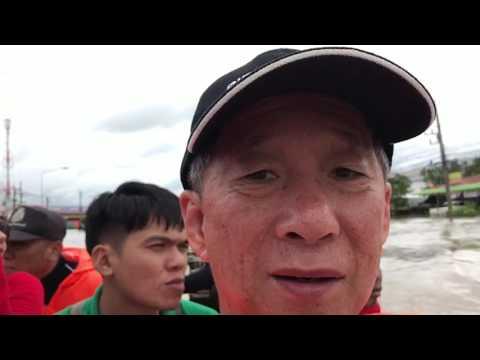 Sawang daen din thailand flooding Lotus Tesco area! 28/07/17