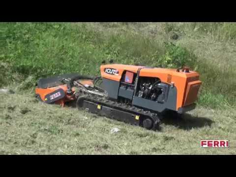 Video Rádiem řízený nosič nářadí iCUT4
