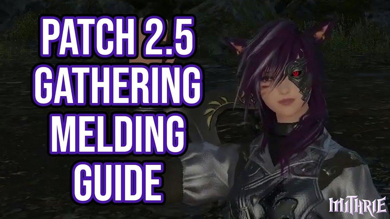 Gathering manual Ffxiv