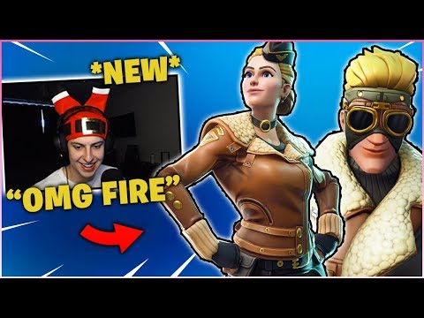 CIZZORZ Reacts To *NEW* WINGTIP & CLOUDBREAKER *EPIC* Skin In Item Shop!