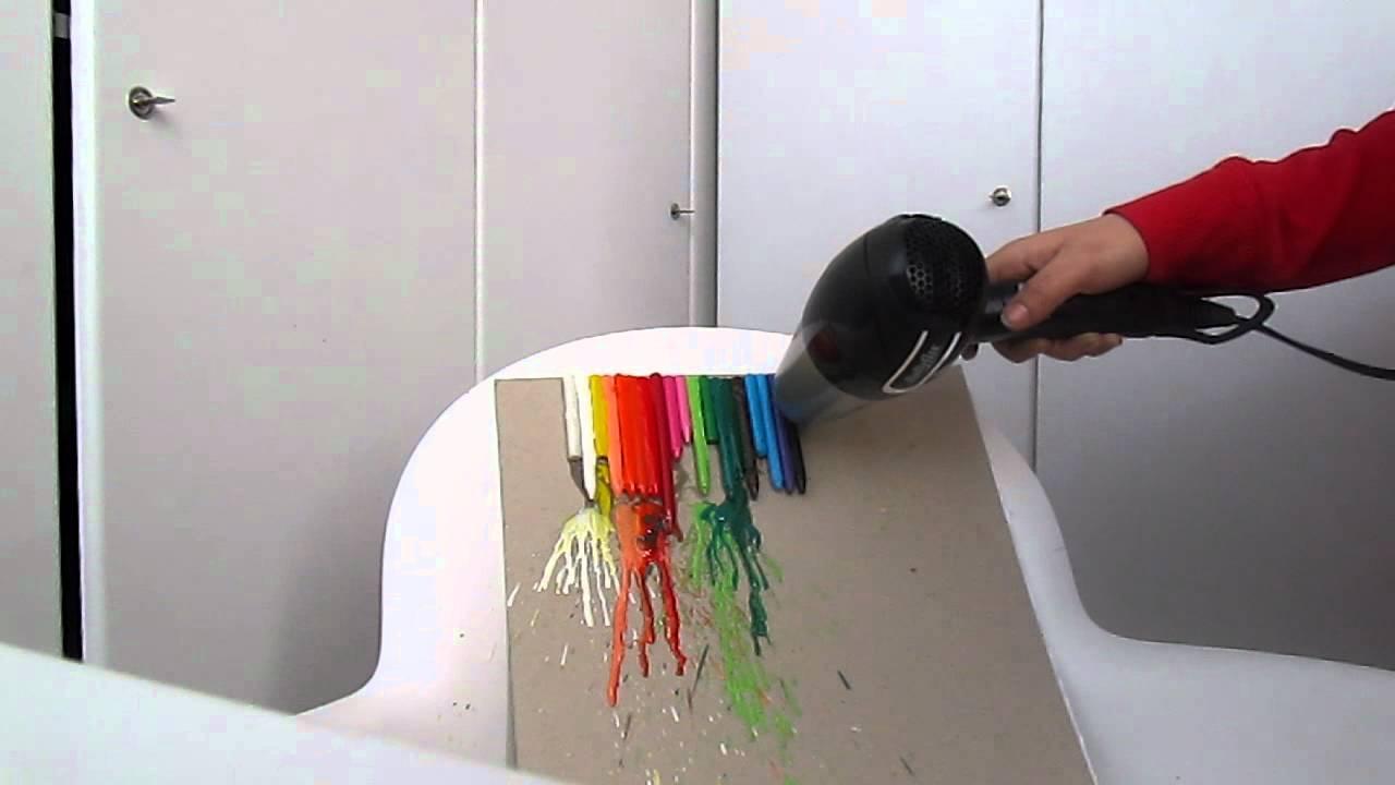 Pastelli sciolti,quadro fai da te ! :) - YouTube